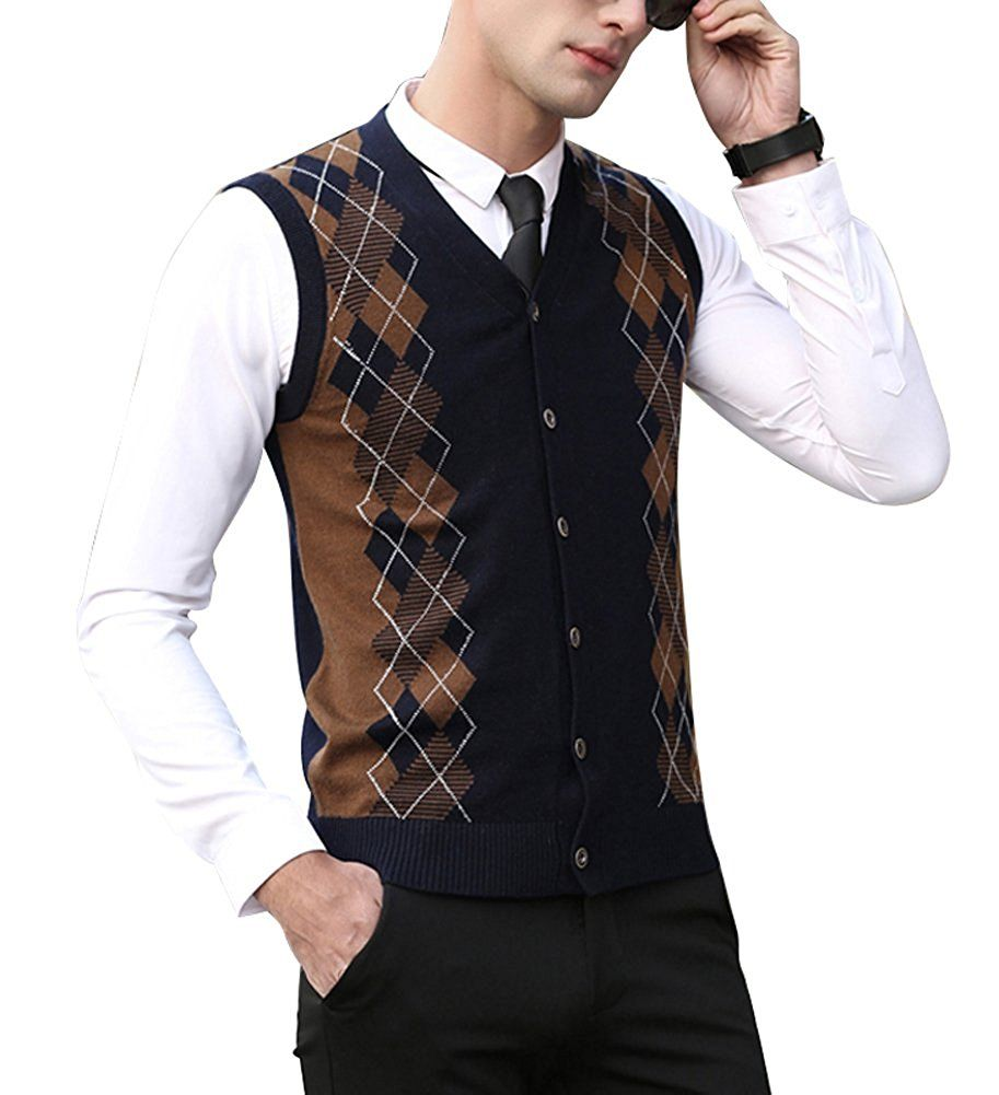 Men's Vintage Inspired Vests- 1920s, 1930s, 1940s, 1950s | Vintage men
