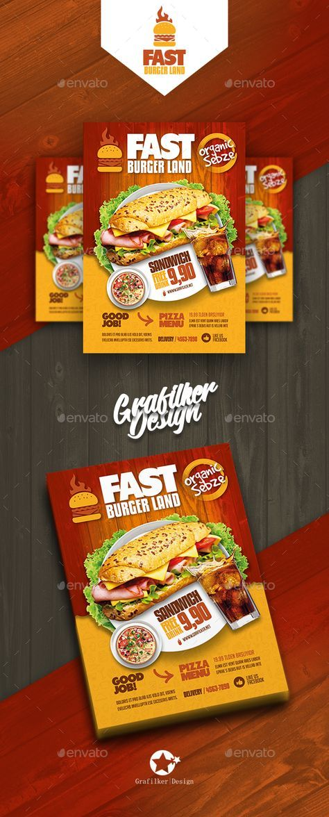 Restaurant Flyer Templates Flyer Template Template And Logos