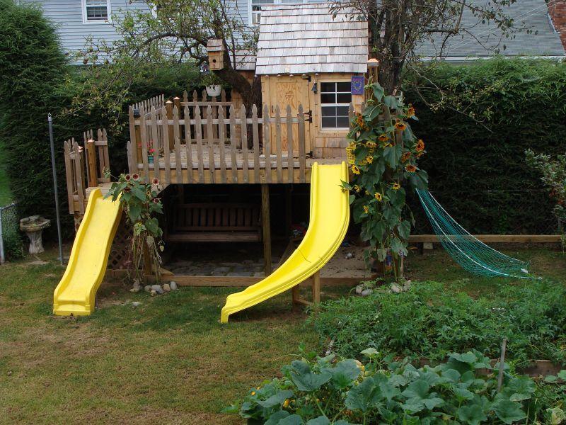 backyard landscaping ideas SANDBOX