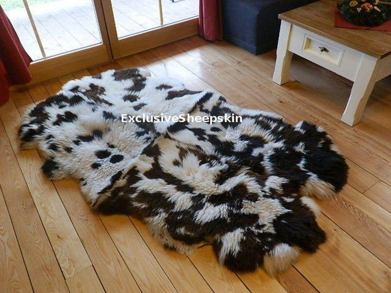 Natural Genuine Sheepskin Rug Carpet 100 Sheep Skin Carpet Etsy In 2020 Rugs On Carpet Rug Decor Sheepskin Rug
