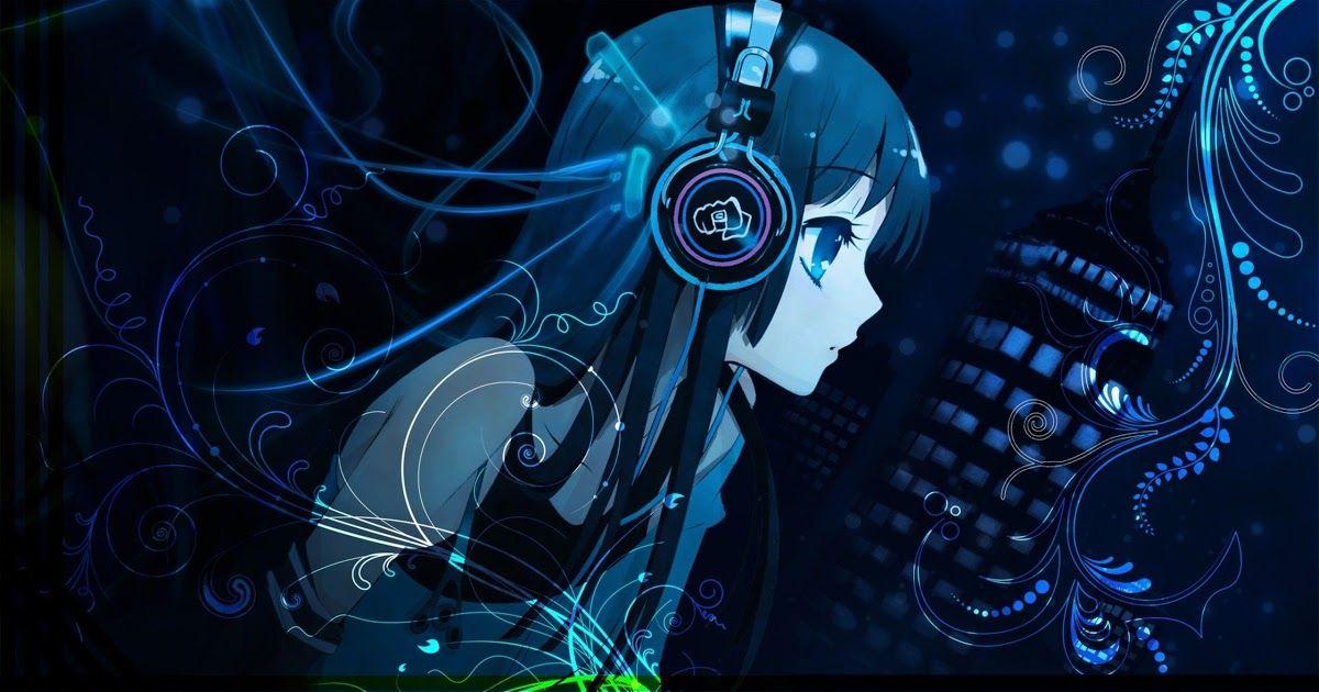 17 Anime Wallpaper Girl With Headphones Di 2020 Dengan Gambar