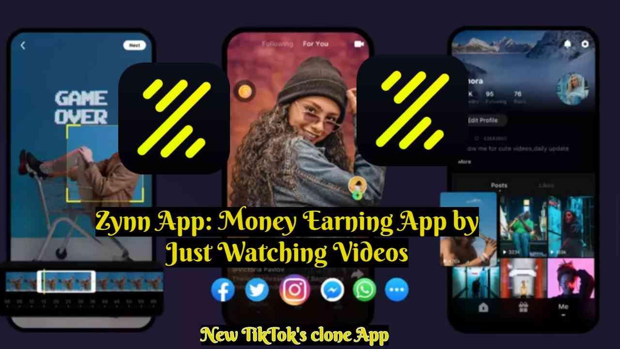 Zynn The New Video App 2020 Known As A Tiktok S Clone App Users Earning Just Video App Earnings App