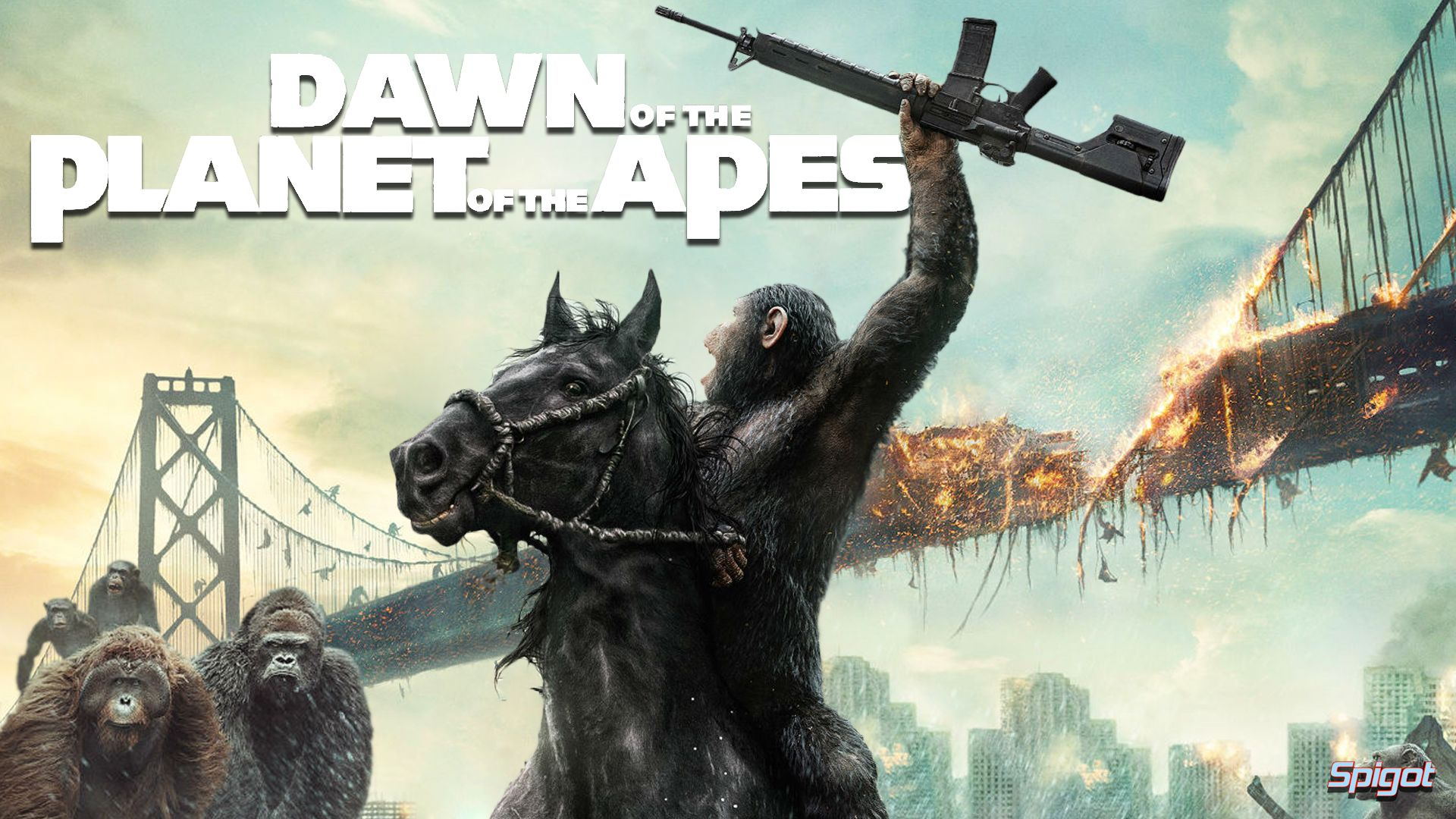 Dawn Of The Planets Of The Apes - Brains Over Brawn: Transcending the Summer Blockbuster - http://bit.ly/1nX4K7C