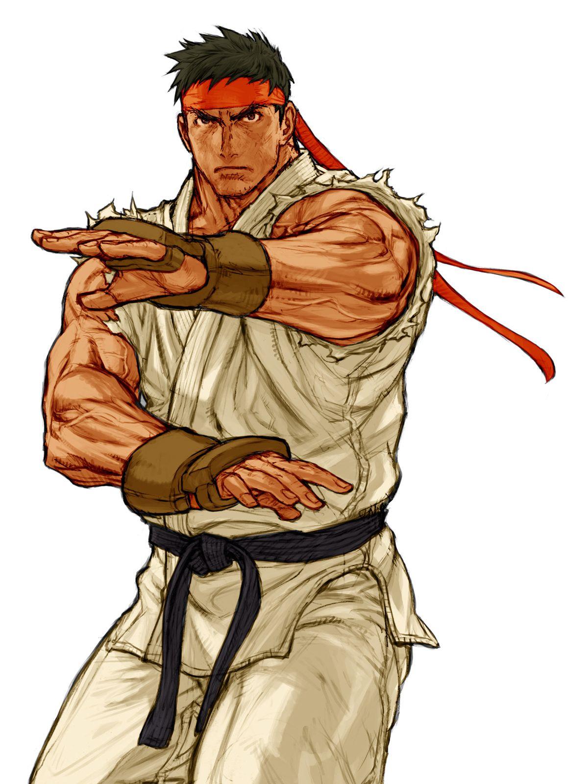 Capcom Vs Snk 2 Ryu Capcom Artwork Street Fighter Art Ryu