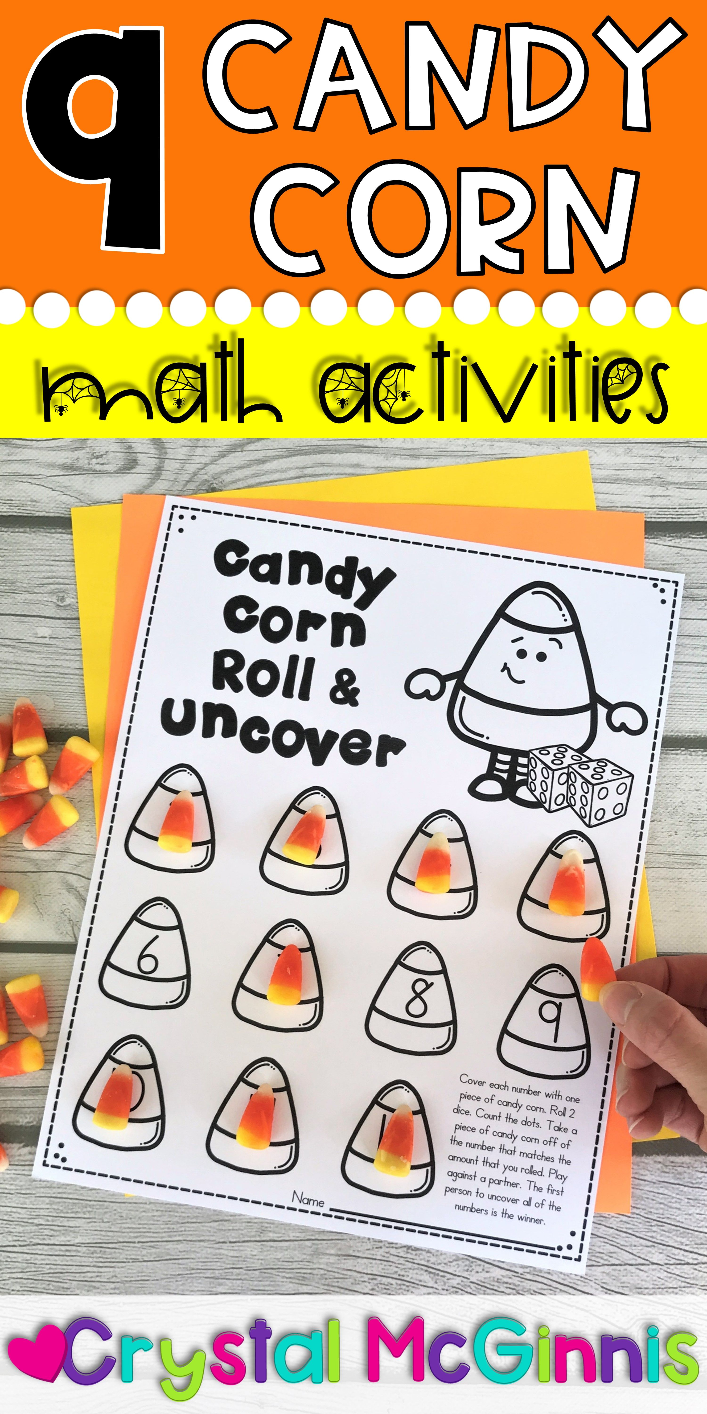 9 Candy Corn Math Activities For Fall Candy Corn Math Activities Activities