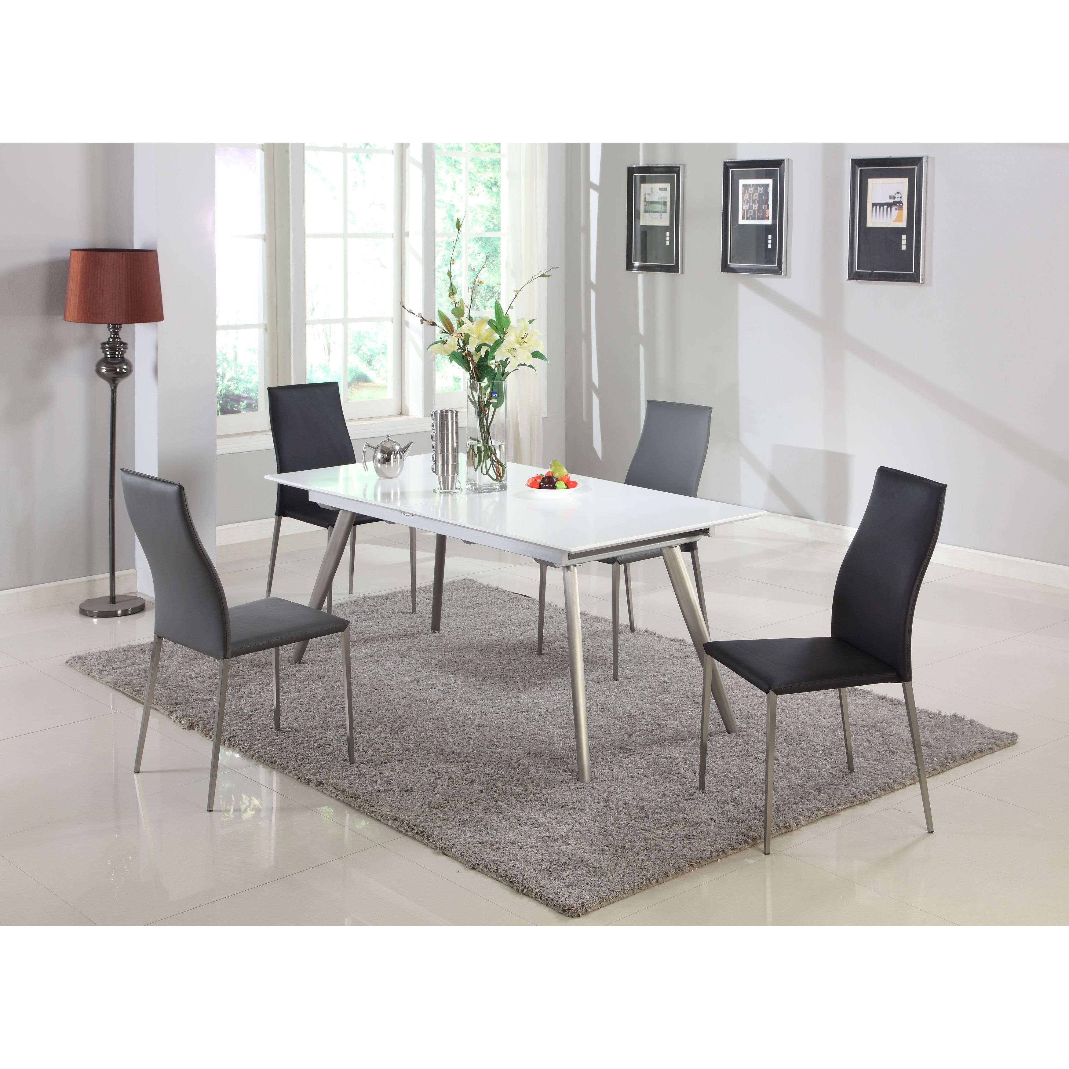 Self Storing Extension Dining Table