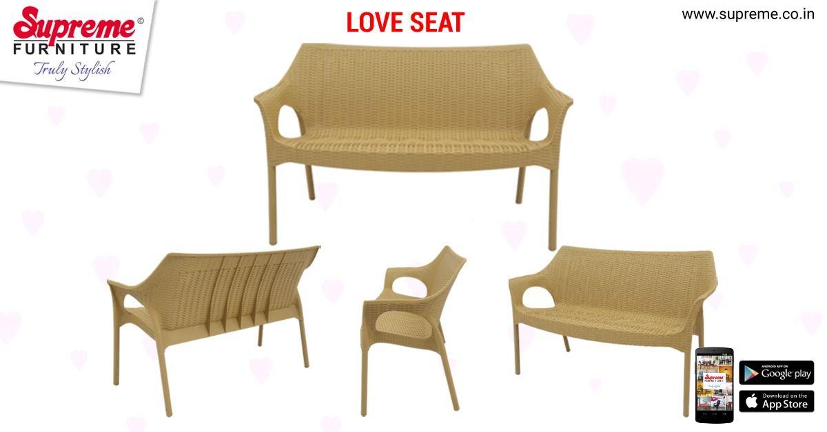 Love Seat Love Seat Furniture Plastic Furniture