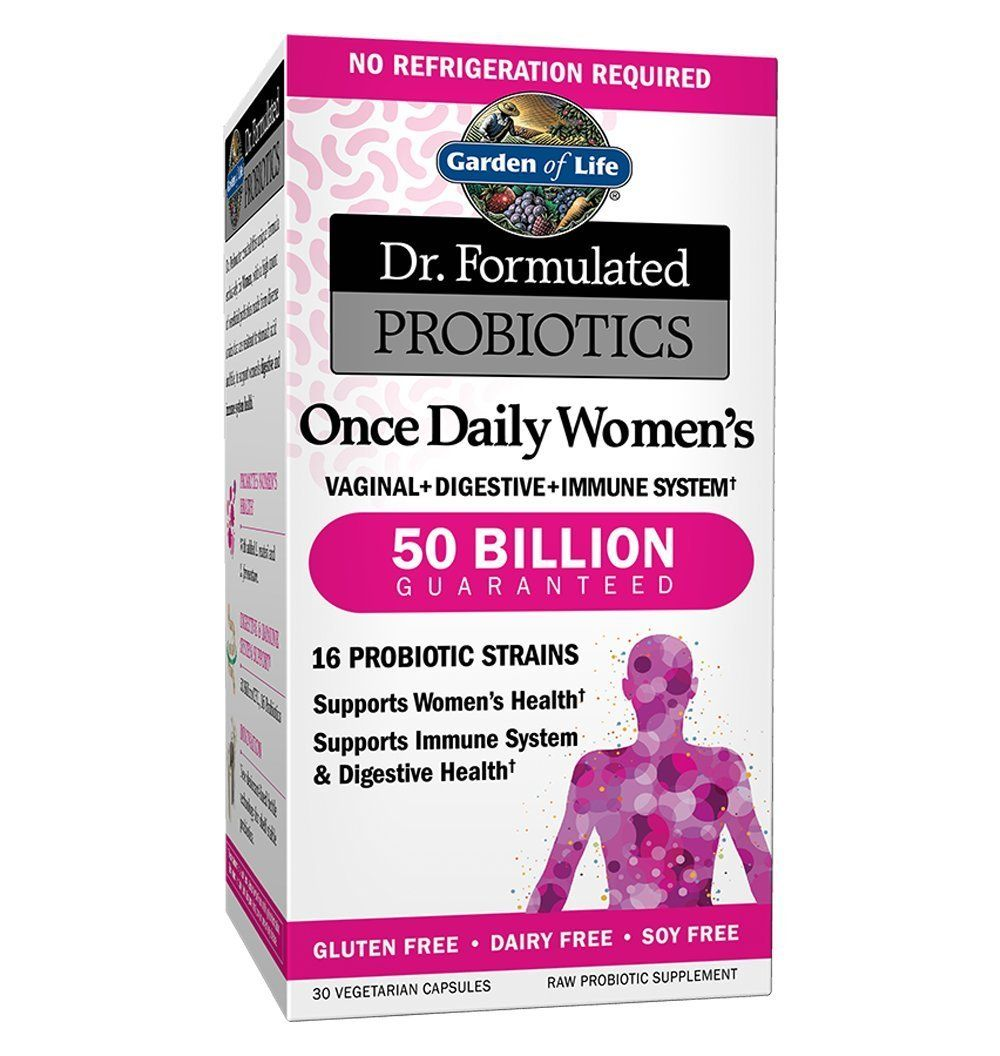 Possessing 16 Strains Of Probiotics And 50 Billion Total Strain Cultures This Garden Of Life Women S Probiotic Helps T Probiotics Probiotics Supplement Health