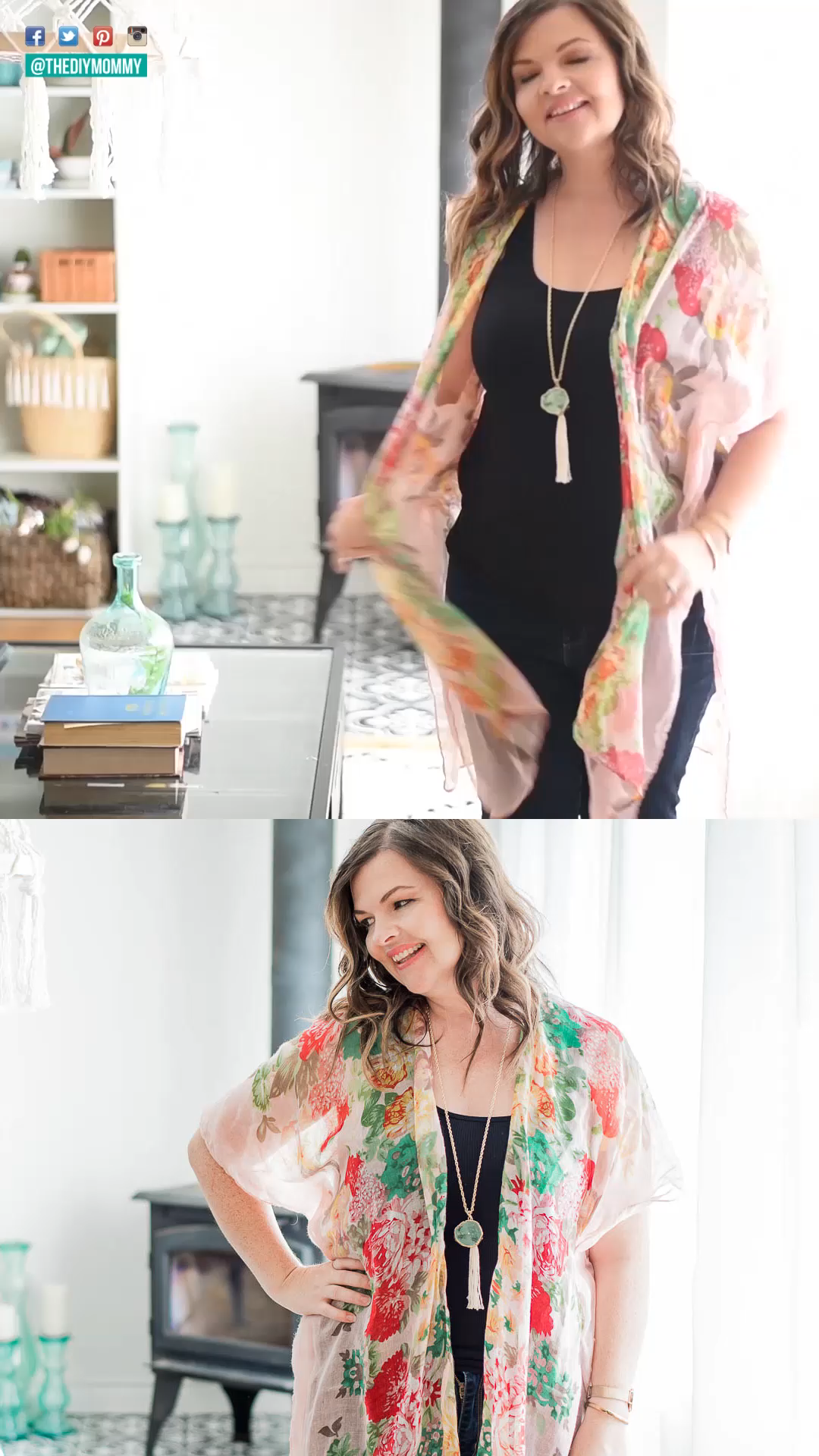 Photo of DIY Kimono Cardigan from a Scarf