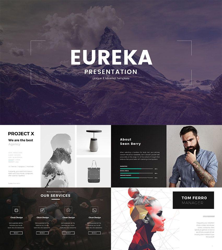 Eureka minimal powerpoint template creative powerpoint eureka minimal powerpoint template alramifo Choice Image