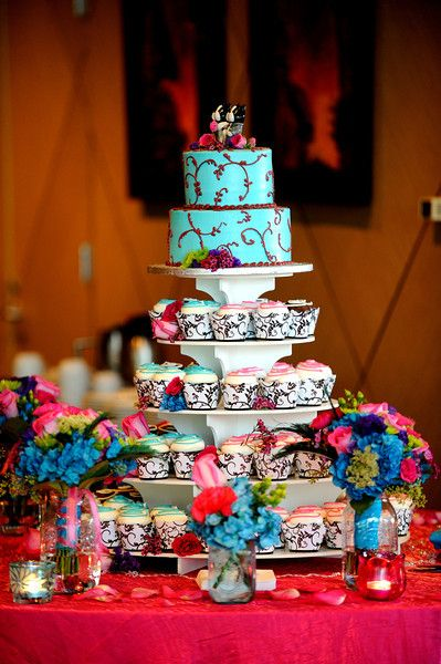 Turquoise + Fuchsia Downtown Tampa Wedding Straz Center Maestro's – Vadim Photo
