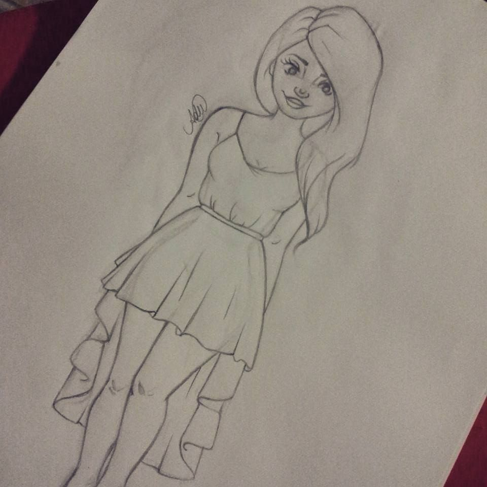 #draw #desenho #drawing #girl #look