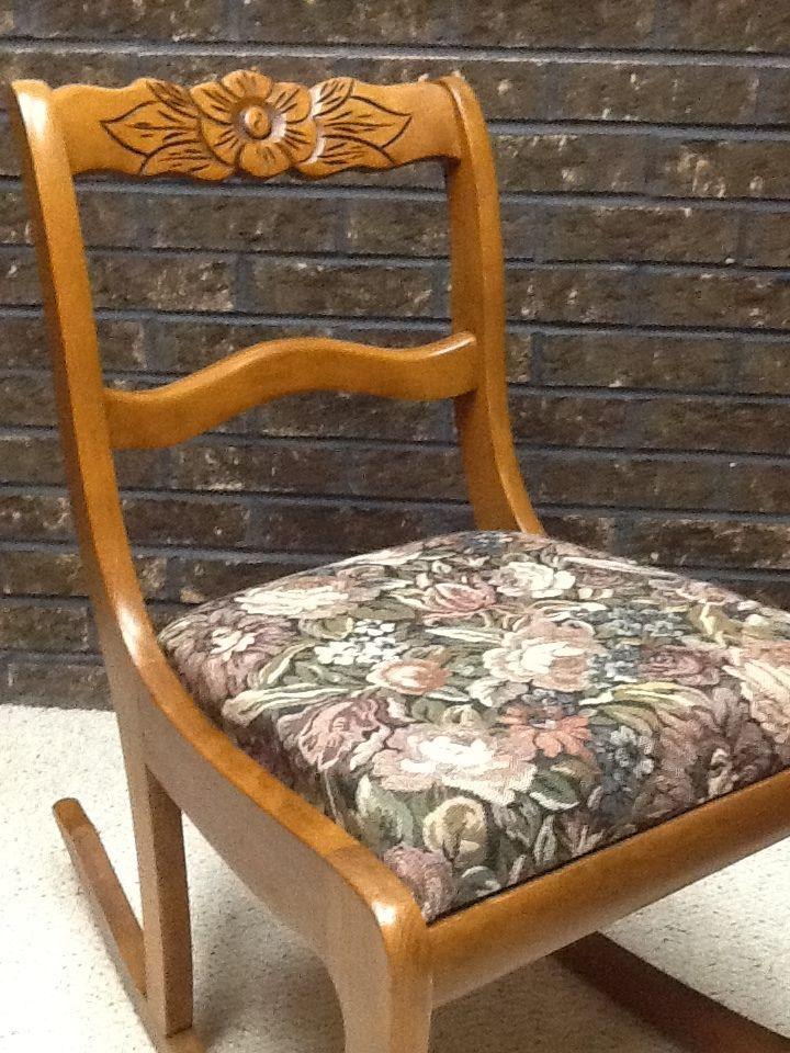 Tell City Chairs Pattern 4526 Plush Baby Rocking Chair 48 Andover Sewing Nursing Rocker Furniture Stool
