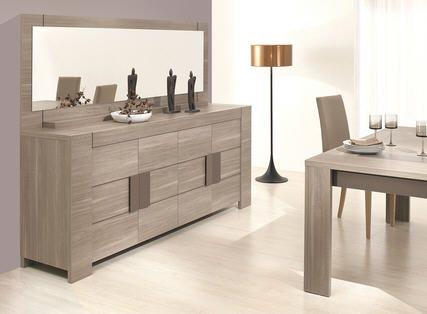 buffet 4 portes atlanta ch ne fusain prix promo la maison de valerie ttc au lieu. Black Bedroom Furniture Sets. Home Design Ideas