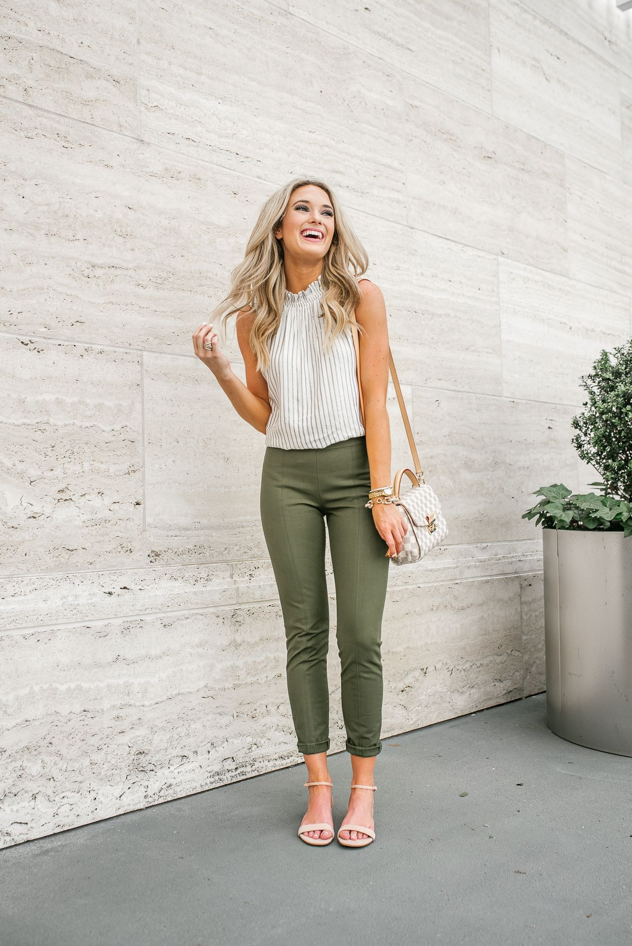 Work Wear to Casual Look | Work outfits women, Cute work ...
