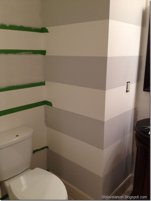 Painting Stripes (bathroom Possible)