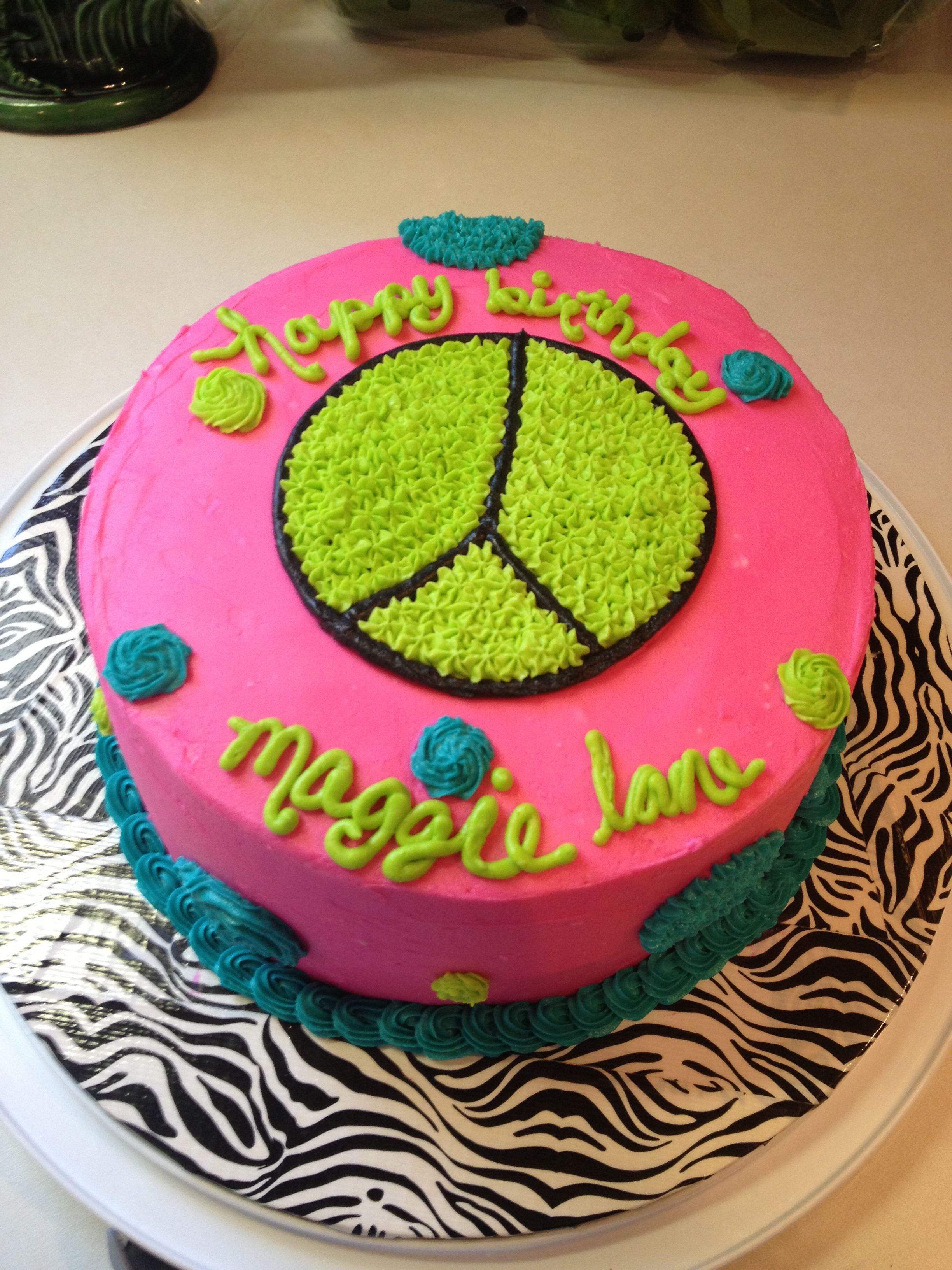 Buttercream Cake For My Girls 11th Birthday Cheeky Cakes