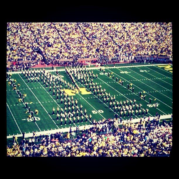 first game at new big house (2010)