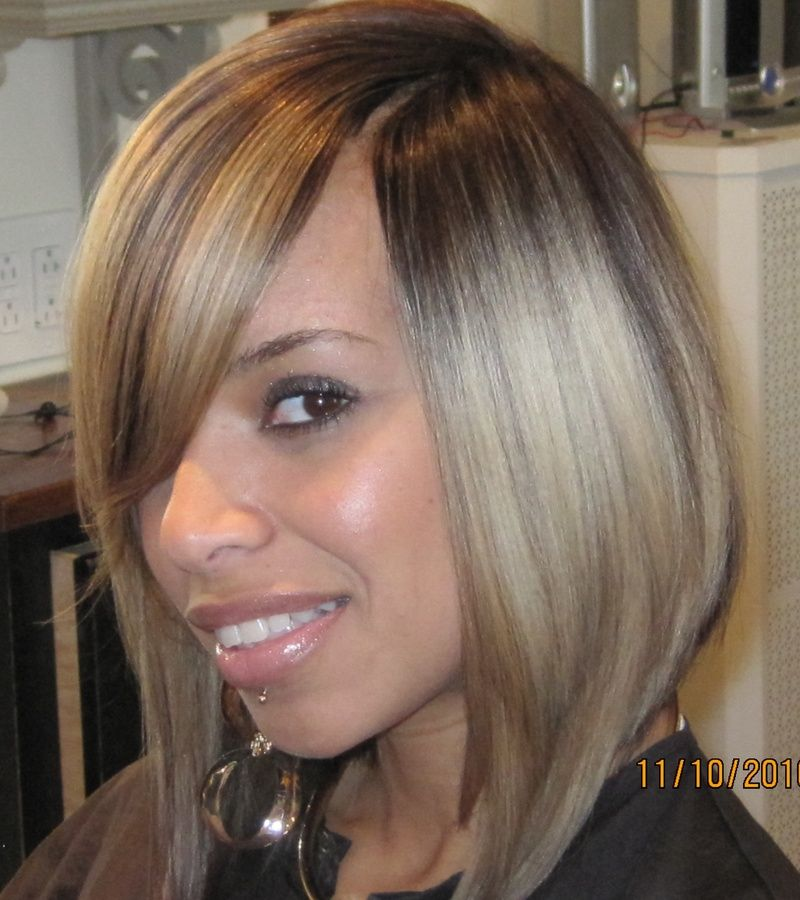 Bob Quick Weave Invisible Part Weaves Sas Hair Studio Beauty