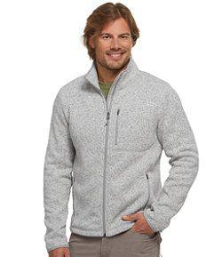 LLBean: Bean's Sweater Fleece Pullover | mens jackets vest | Pinterest