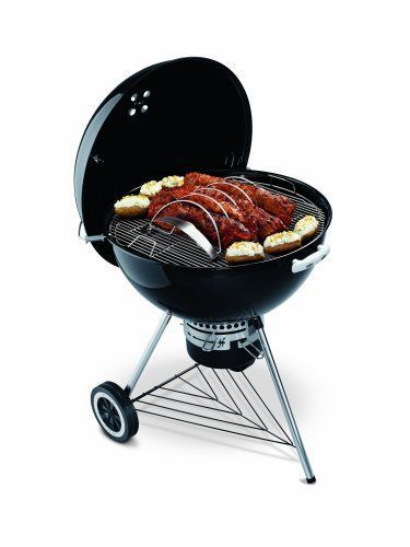 weber style bbq stainless steel rib