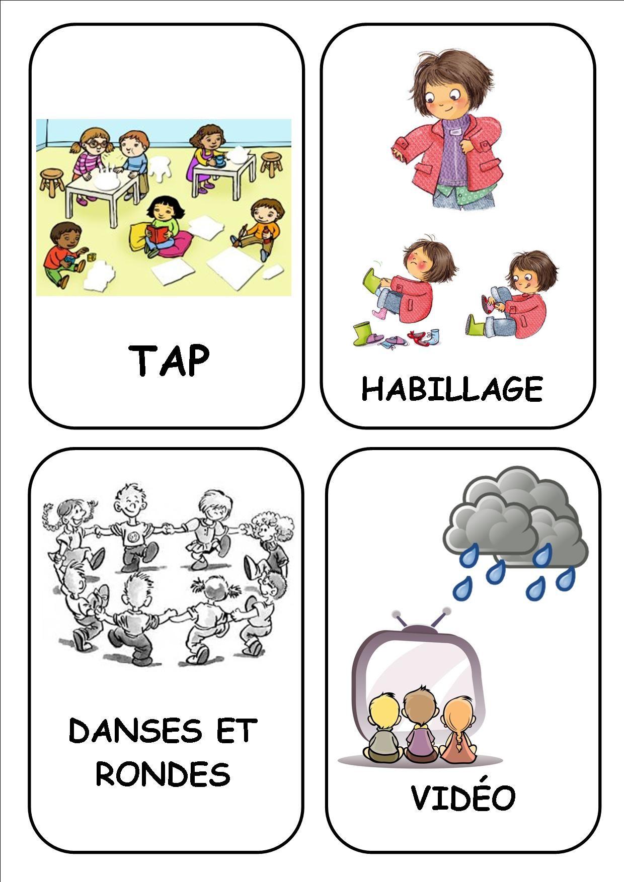 Affichage classe - Ecole de Nadège | maternelle ...