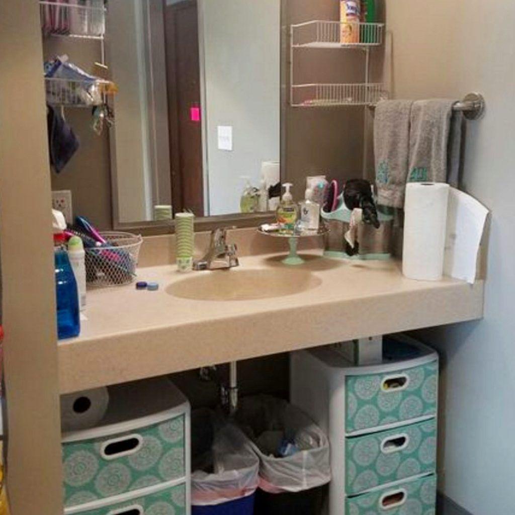 Dorm Bathroom Ideas Hacks Diy Dorm Bathroom Decor Ideas