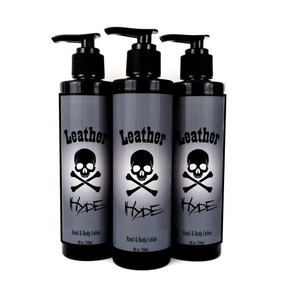 Leather Hyde Lotion Or Hand Sanitizer By Deviantdamedotcom On Etsy