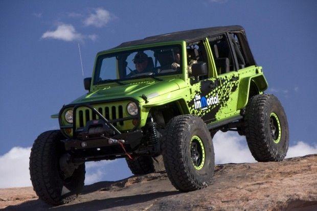 Mopar Immortal Jeep Jk Hybrid Portal Axles 40 Tires Loads Of