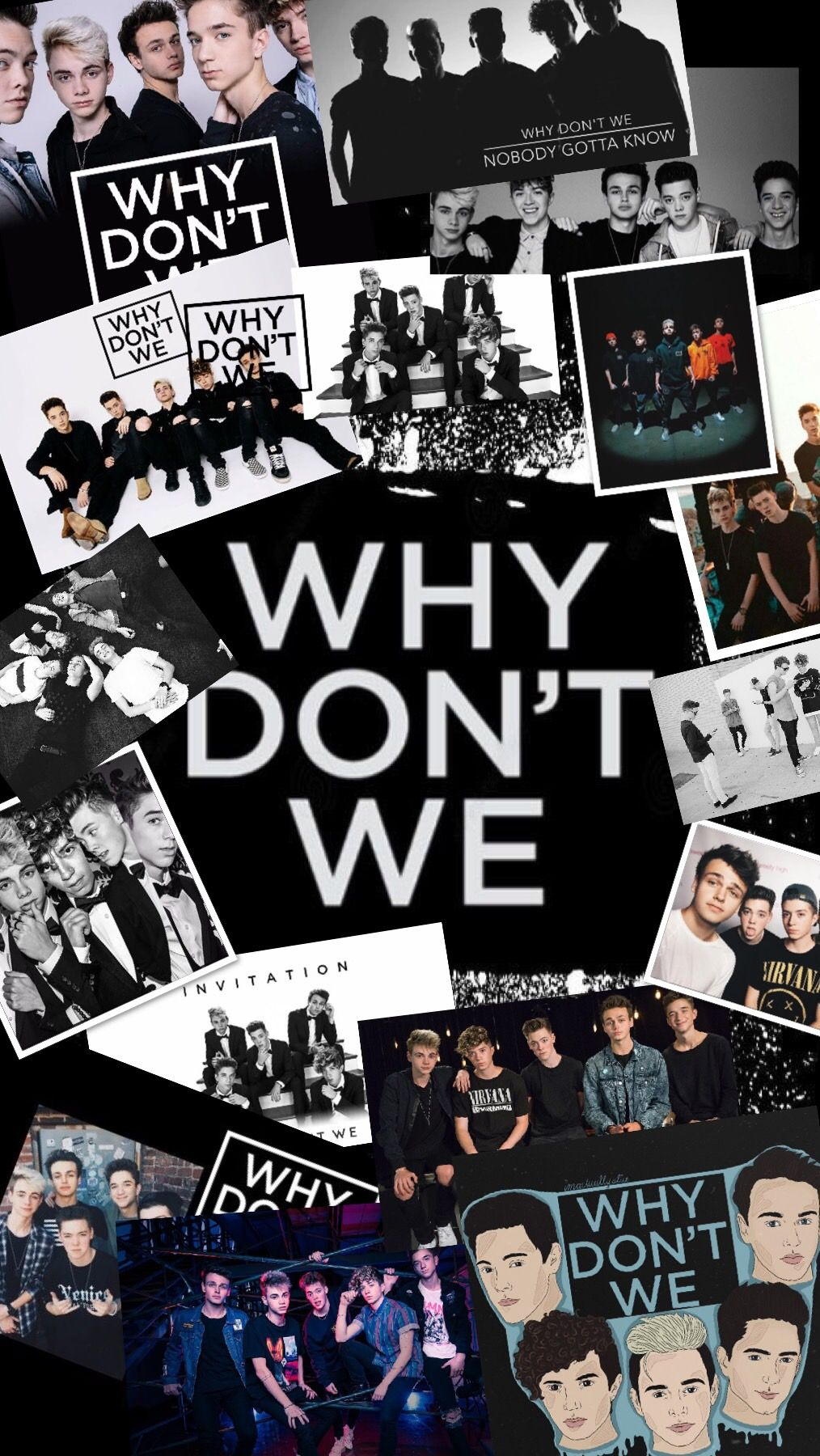 Why Don't We photo collage