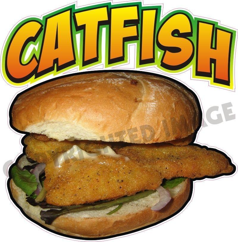 "Fried Shrimp Decal 14/"" Seafood Concession Restaurant Food Truck Menu Vinyl Sign"