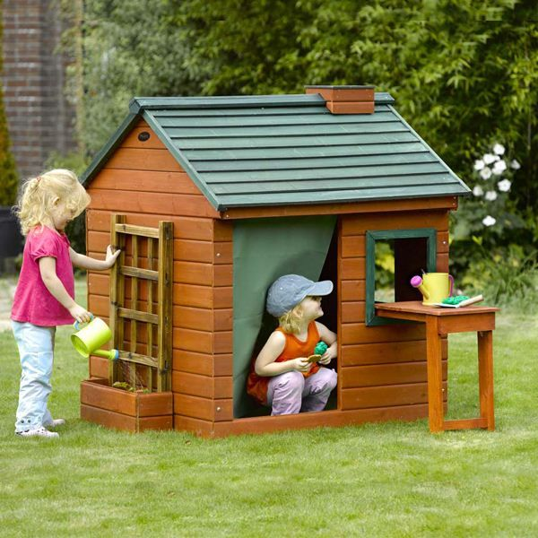Merveilleux 4 X 4 Plum Products Gardeners Cottage Wooden Playhouse On Walton Garden  Buildings