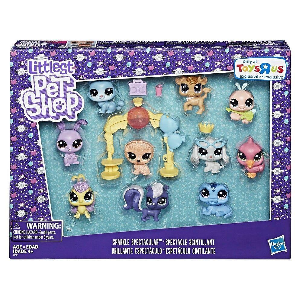 Littlest Pet Shop Sparkle Spectacular Toys R Us Exclusive Set E1787 New Littlest Pet Shop Pet Shop Lps Littlest Pet Shop