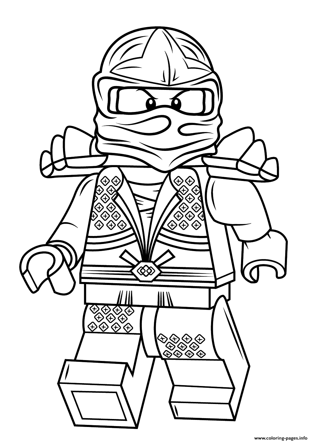 print lego ninjago lloyd zx coloring pages | lego coloring