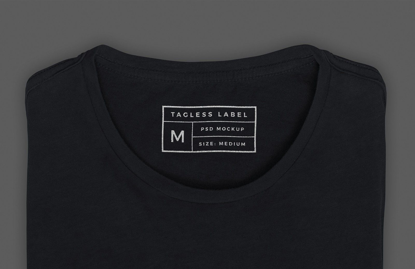 Apparel Tag Inside Label Mockup T Shirt Label Shirt Label