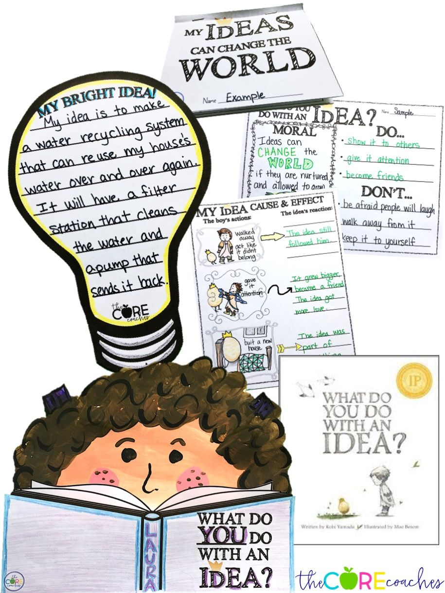 What Do You Do with an Idea? These writing activities and craftivitiy are perfect!