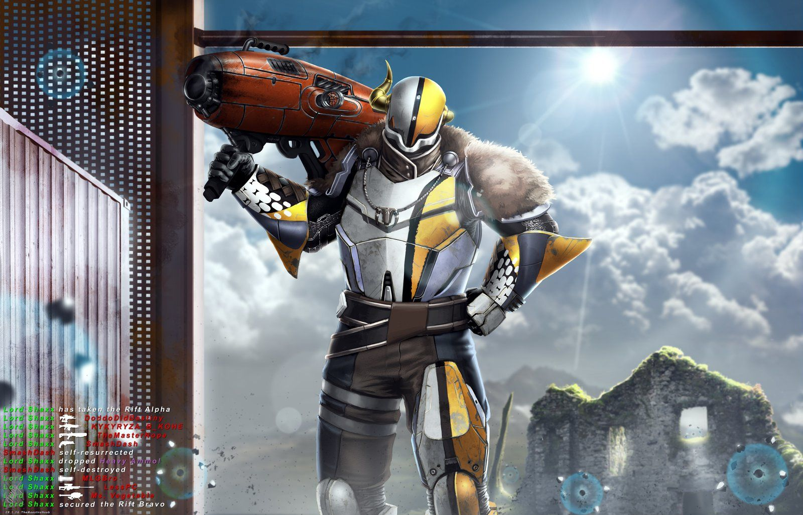 Lord Shaxx Playing Rumble Destiny Comic Destiny Game Destiny Bungie