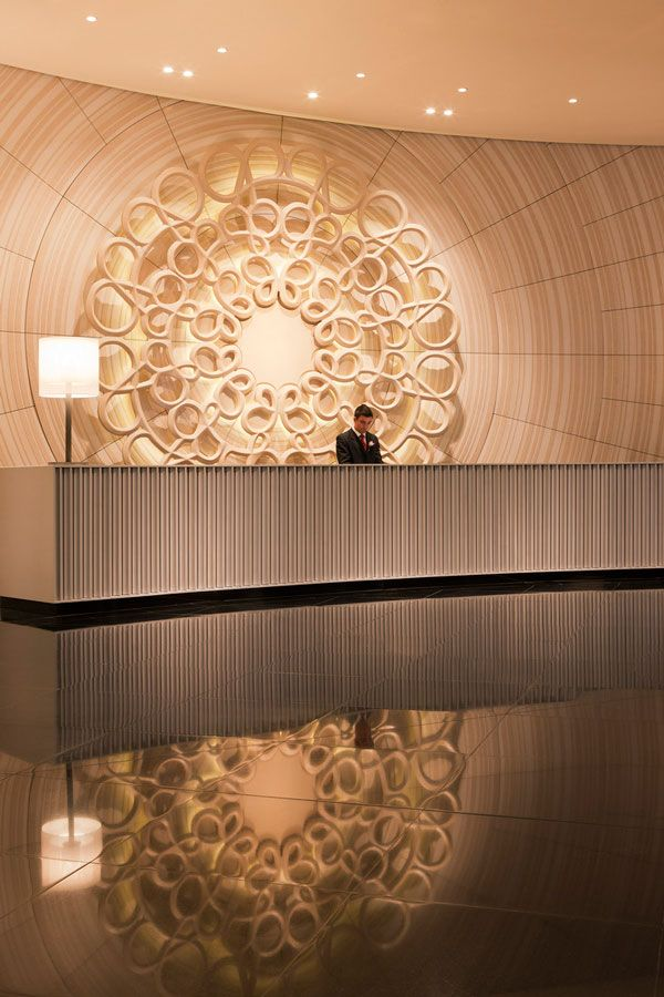Crown Towers Lobby by Bates Smart