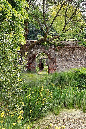 english walled garden garden wall victorian gardens on walled id=49991