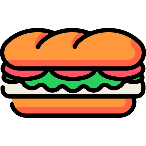 Sandwich Free Vector Icons Designed By Freepik Vector Icon Design Cute Little Drawings Easy Drawings