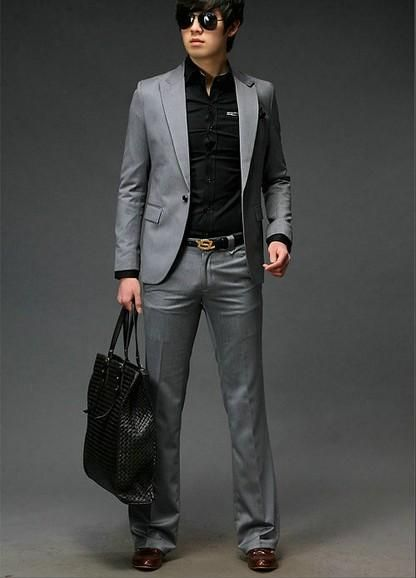 1000  images about Fashion on Pinterest | Men's grey suits, Suits
