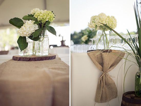 burlap table runners 1000 images about we lt 3 mason jars on pinterest mason jar 1000 images about we