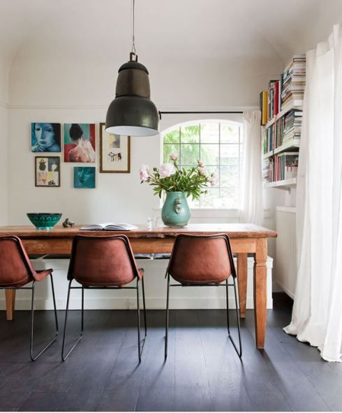 Ethnic Dutch home via The Style Files