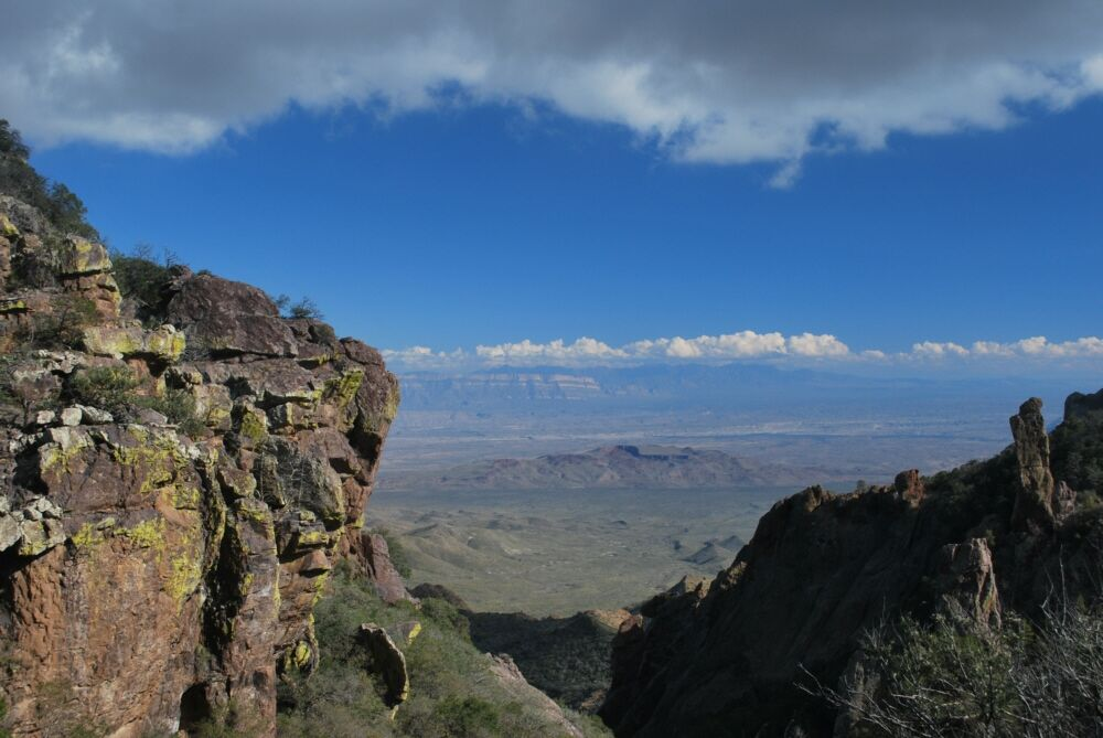 South Rim of Chisos Mountains. Big Bend National Park. Photography by: Tim Speer