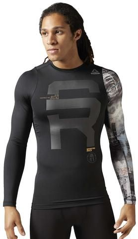 6baa2dba3 Reebok SPARTAN Race LS Compression Shirt - Men's | Apparel | Spartan ...