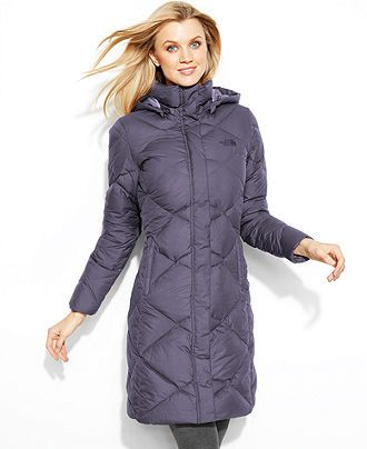 The North Face Coat Miss Metro Hooded Puffer Parka