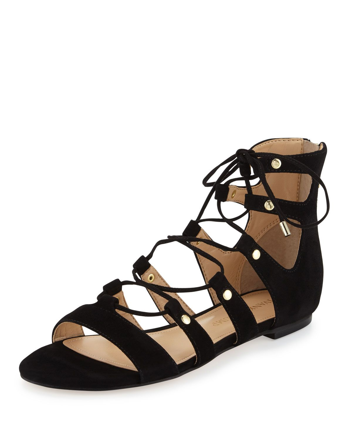 4186a36f7a4 Splendid Carly Lace Up Sandals ( 76) ❤ liked on Polyvore featuring shoes