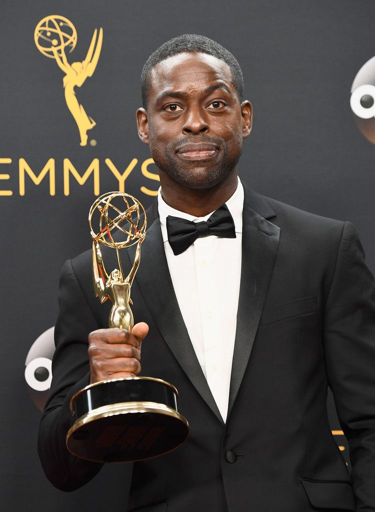 Sterling K. Brown Photos Photos - 68th Annual Primetime Emmy Awards - Press Room…