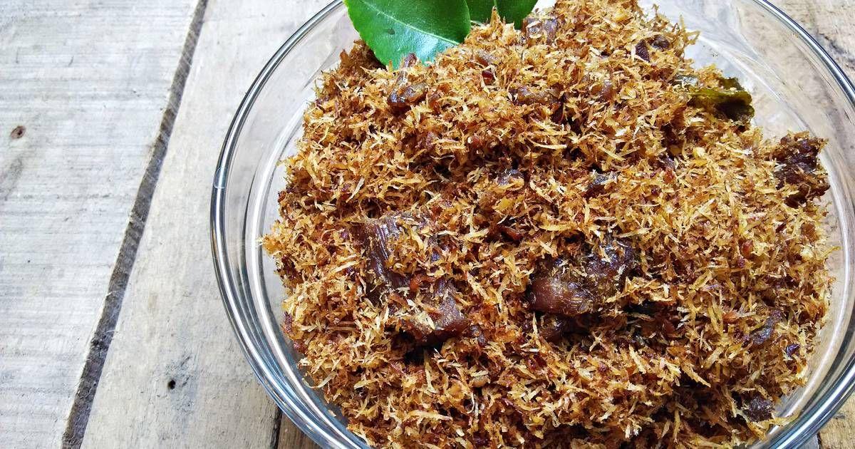 Resep Serundeng Daging Oleh Rachma Esty Utami Resep Memasak Resep Resep Masakan Indonesia