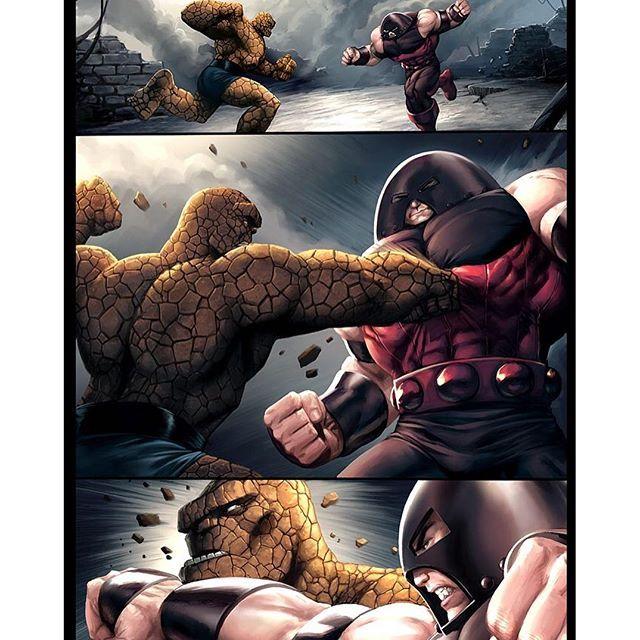 The thing vs Juggernaut Who wins? #comicbooks #comics # ...